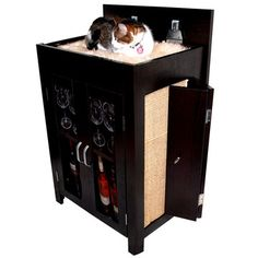 My design inspiration: Cat Convertible Cabinet on Fab.
