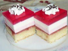 Czech Recipes, Cake Bars, Vanilla Cake, Nutella, Cheesecake, Czech Food, Kuchen, Cheesecakes, Cherry Cheesecake Shooters