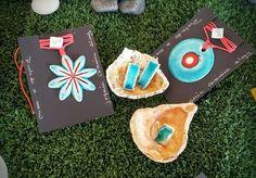 Joyería cerámica en color turquesa, color aguamarina . Colgantes ,  pendientes y anillos.