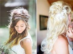 Coiffure de mariée : 10 idées avec les cheveux lâchés  La mariée en colère