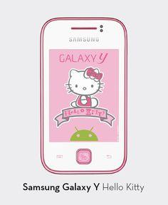 Samsung Galaxy Y, edición especial Hello Kitty - El Palacio de Hierro