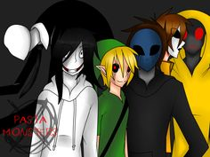 The Pasta Monsters by xAngelFoxy.deviantart.com on @DeviantArt