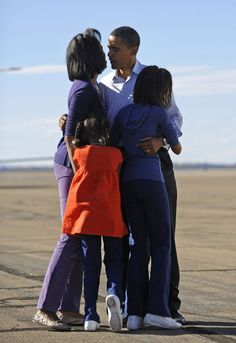 All of the Obamas' Cutest Moments - Michelle and Barack Obama Photos