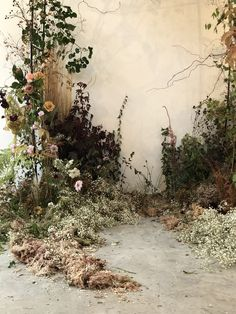These floral installations for weddings are totally worth bookmarking! From jungalow canopies to color block blooms, it's all there, folks! Floral Wedding, Wedding Flowers, Nautical Wedding, Wedding Bride, Wedding Favors, Flower Installation, Deco Floral, Ceremony Backdrop, Dried Flowers