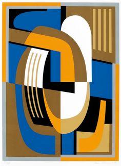 SAM VANNI, SOMMITELMA. Sign. -79. Serigrafia, XX/XX, 64x44 cm.