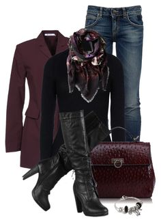 Untitled #846 by carla-palmisano-50 on Polyvore featuring polyvore, fashion, style, Anthony Vaccarello, T By Alexander Wang, Roÿ Roger's, Pandora, Alexander McQueen and clothing