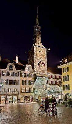 Solothurn - Switzerland by minerva Winterthur, Bern, Zermatt, Zurich, Basel, Beaux Villages, Belle Villa, Europe Photos, Hotels