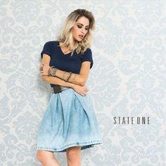Cada vez mais apaixonados por cada peça! #stateone #inlove