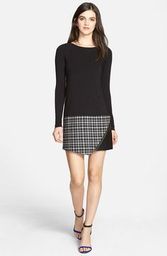 Bailey 44 Mixed Media Shift Dress (Nordstrom Exclusive) available at #Nordstrom