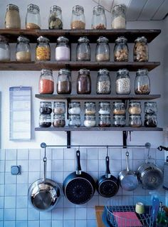 Storage idea for the kitchen