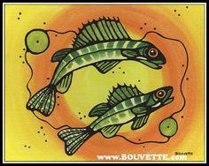 Walleye by Ayla Bouvette