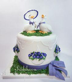 Spring walk - Cake by Anastasia