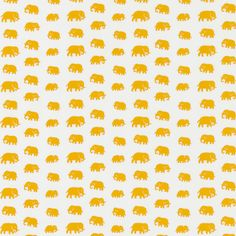 'Textile Elefant Cotton'  Estrid Ericson travelled a great deal and took all kinds of forms, patterns and souvenirs home with her. Estrid designed this textile with small elephants based on a model from the Belgian Congo. Elephant was printed for the first time in the end of the 1930s.