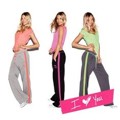 Victoria's Secret PINK outfits -leisure wear every day, YES! Lounge Outfit, Lounge Wear, Lounge Clothes, Pink Outfits, Cute Outfits, Cute Workout Outfits, Pink Nation, Vs Pink, Victoria's Secret Pink