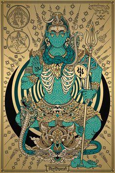 Arte Shiva, Shiva Art, Hindu Art, Lord Shiva Statue, Lord Shiva Pics, Lord Shiva Painting, Krishna Painting, Psy Art, Graffiti