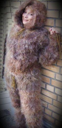 Fluffy Sweater, Kitten Love, Catsuit, Mistress, Overalls, Fur Coat, Jumpsuit, Cozy, Pullover