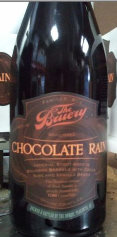 Chocolate Rain - The Bruery