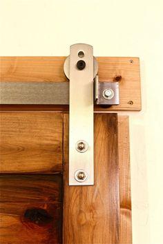 Ultramodern Barn Door Hardware | Rustica Hardware