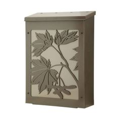Blink Maple Leaf Wall Mounted Mailbox