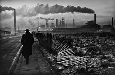 Don McCullin, Early morning, West Hartlepool, Donald McCullin is an internationally known British photojournalist, particularly recognized for his war photography and images of urban strife. Photography Exhibition, War Photography, Documentary Photography, Vintage Photography, Street Photography, Landscape Photography, Photography Gallery, Andre Kertesz, Great Photos