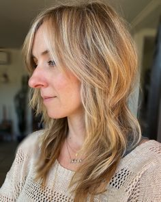 Blonde shag with depth and dimension Salons, Long Hair Styles, Beauty, Beleza, Lounges, Long Hair Hairdos, Cosmetology, Long Hairstyles, Long Hair Cuts