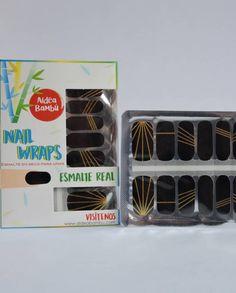 Nail Wraps Aldea Bambú