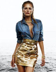 Editorial Fashion Photography | Editorial - Edita Vilkeviciute for Vogue Spain 2012 by Greg Kadel