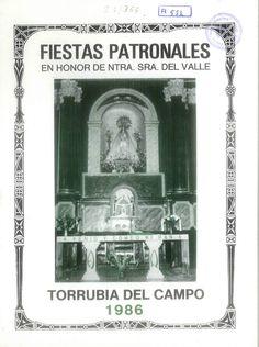Fiestas en Torrubia del Campo (Cuenca), en honor de la Virgen del Valle. Del 6 al 10 de septiembre de 1986. #Fiestaspopulares #TorrubiadelCampo #Cuenca