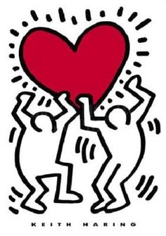 Keith Haring Best designer. Best ideas. Less difficult. More simple.