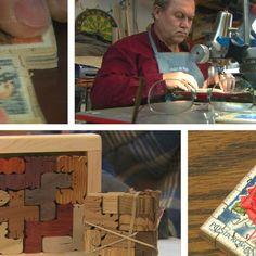 Clif Nelson makes stamp sized puzzles.