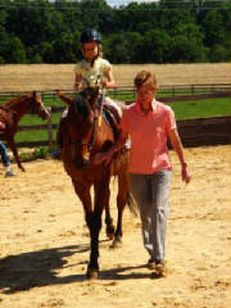 Great and Small Therapeutic Riding is a private, non-profit community based program, founded in 1998, that provides therapeutic horseback riding lessons to persons with a wide range of physical, emotional and cognitive disabilities.  We serve students with Autism, Down Syndrome, Cerebral Palsey, Multiple Sclerosis, and Mental Retardation among other challenges.