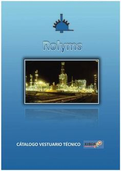 Rolyms - Ropa laboral - ignífuga - Catálogo Xispal 2012