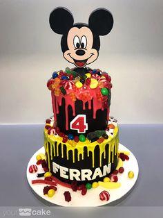Your Cake. Tarta Mickey