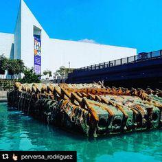 #Repost @perversa_rodriguez with @repostapp. ・・・ Entre animales y agua se asoma una escultura… #Museo #vcocam #foto #escultura #historia #arte #Mexico #MexicoAlternativo #3museos #museum #museosmty...