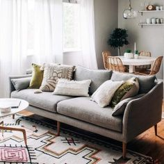 The best thing about a neutral sofa? 🙌 We want to see how you style your sofa — share it with us by tagging… Living Room Accessories, Home Accessories, West Elm, Living Room Sofa, Living Room Decor, Dining Room, Neutral Sofa, Best Sofa, Modern Sofa