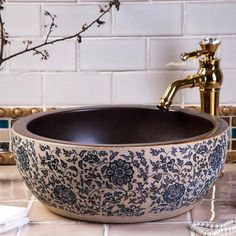 Cheap ceramic bathroom sinks, Buy Quality bathroom sink directly from China lavabo washbasin Suppliers: China Artistic Handmade Europe Vintage Lavabo Washbasin Ceramic Bathroom Sink Art Counter Top above counter basin bathroom sinks Above Counter Bathroom Sink, Bathroom Sink Bowls, Modern Bathroom Sink, Sink Countertop, Bowl Sink, White Countertops, Boho Bathroom, Porcelain Countertops, Bathroom Sink Decor