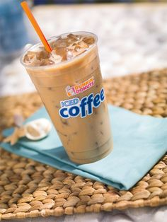 Iced Coffee on a warm day = nothing better!