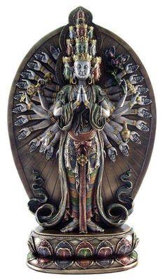 Buddhist sculpture.