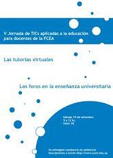Afiche V Jornada de TIC aplicadas a la educación para docentes de la FCEA