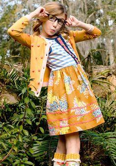 Camp MJC: Gotta Bale Dress and Clean Canteen Cardi - Matilda Jane Clothing, Size 2