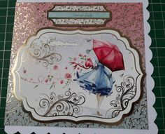 Handmade special lady card,ladies any occassion handmade card with love,foiled special lady gorgeous card by bootneckbabies on Etsy