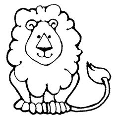 roaring lion line drawing - Google Search
