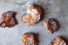 Hanukkah zeppole from  Food52