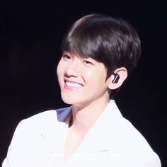 The most beautiful Smile EVER. Baekhyun, Exo Chanbaek, Beautiful Smile, Most Beautiful, Chen, Exo Songs, Exo Album, Z Cam, Exo Korean