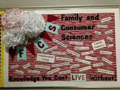 Family and Consumer Science Bulletin Board