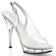 LIP-150 Fabulicious Sexy Shoes 5 Inch Stiletto Heel Platform Slingback - Miss…
