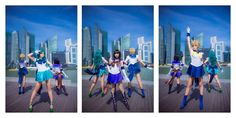 This Outer Senshi (Sailor Moon) cosplay from deviantART.com's Shiroang is out of this world.