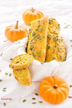Delicious Pumpkin Baguette - Recipe // Rezept für leckeres Kürbis Baguette