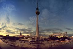 Blue Hour in Berlin / Alexanderplatz / Skyline / Germany by Ralph K. Penno Photography, Berlin, Germany