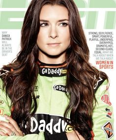 Danica gets cover of ESPN The Magazine